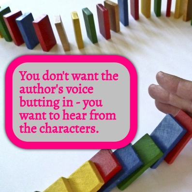 AVBI - You don't want the author's voice butting in