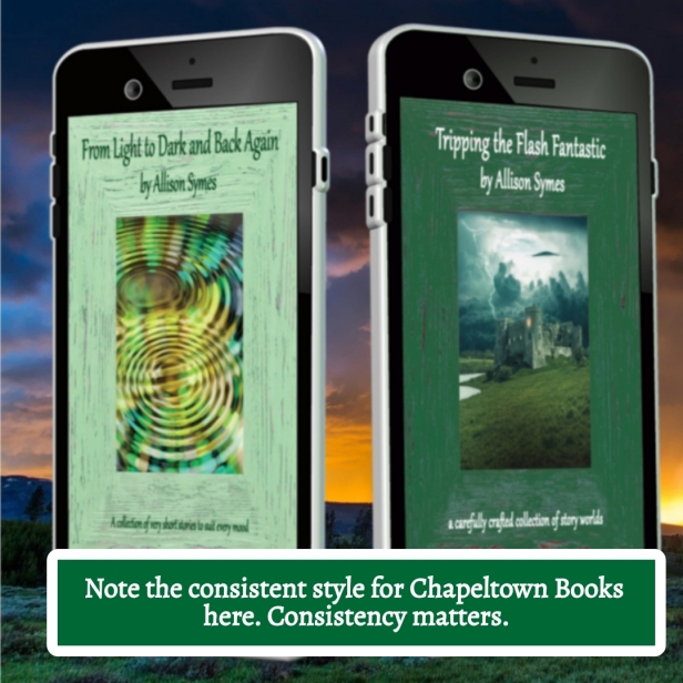 Chapeltown Books - consistency matters