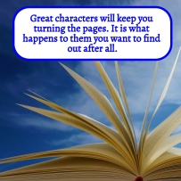AE - July 2021 - Great characters will keep you turning the pages