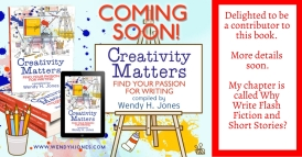 Allison Symes - Contribution to Creativity Matters