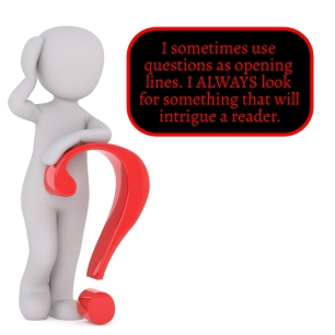 Intrigue the reader