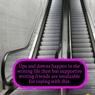 SEASONS IN WRITING - Ups and downs in the writing life