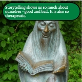 Storytelling shows us so much about ourselves
