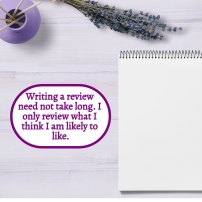 AE - August 2021 - Writing a review does not take long