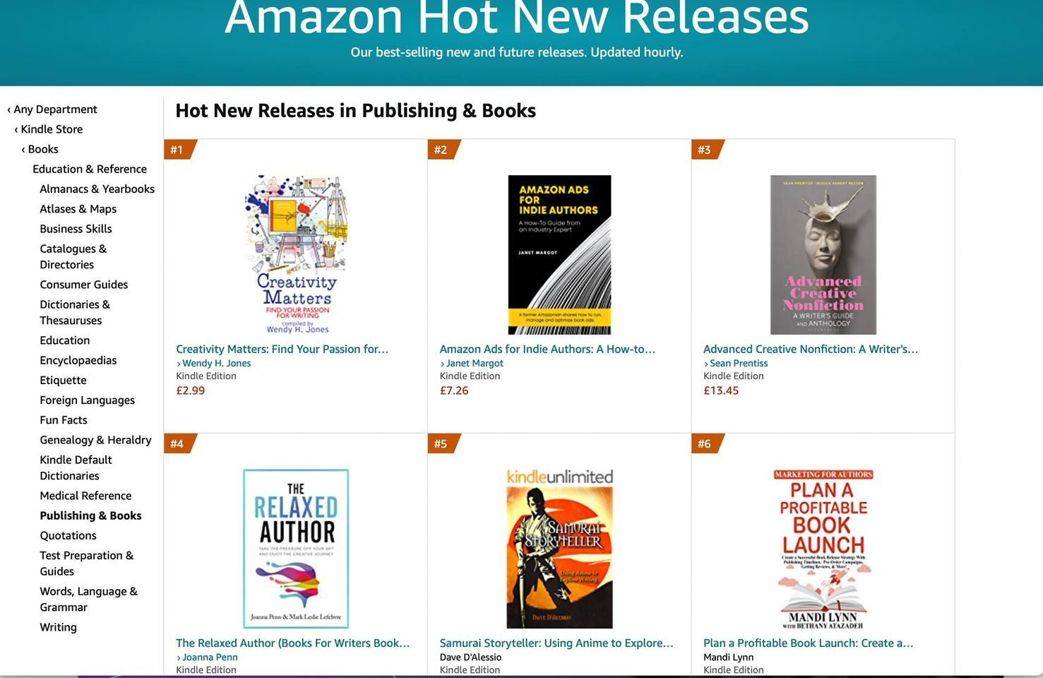 Creativity Matters - Number 1 Hot New Releases