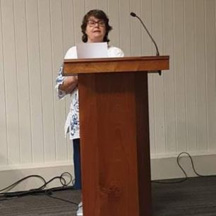 And Penny Blackburn took this one of me from 2019, the last Swanwick held before You Know What hit us all.