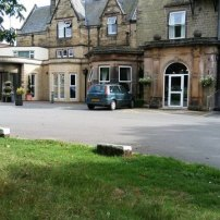 The front of The Hayes where Swanwick is held