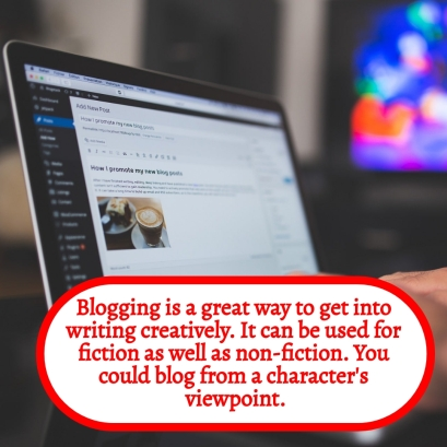 P1 - Blogging can lead into creative writing