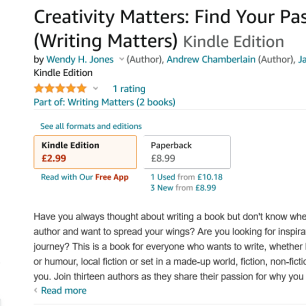 Screenshot 2021-09-11 at 17-38-41 Creativity Matters Find Your Passion for Writing (Writing Matters) eBook Jones, Wendy H ,[...]