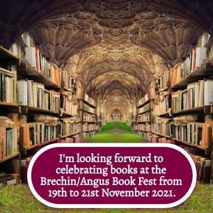AE - Nov 2021 - Looking forward to Brechin Angus Book Fest
