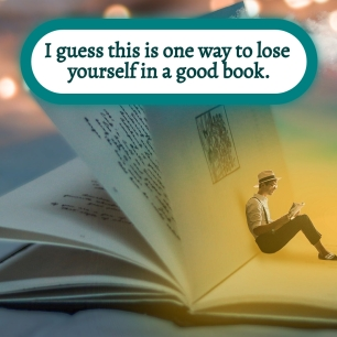 AE - Nov 2021 - One way to lose yourself in a good book