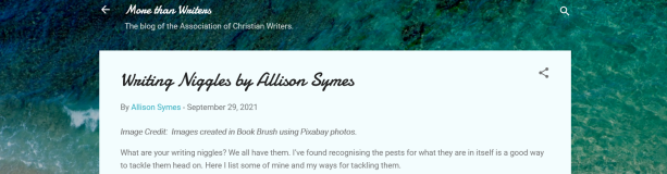 Screenshot 2021-10-01 at 19-33-10 Writing Niggles by Allison Symes