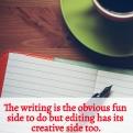 WRITING NIGGLES - Editing has its creative side too
