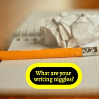WRITING NIGGLES - What are your writing niggles